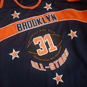 Vintage Streetball Brooklyn All-Stars sewn jersey